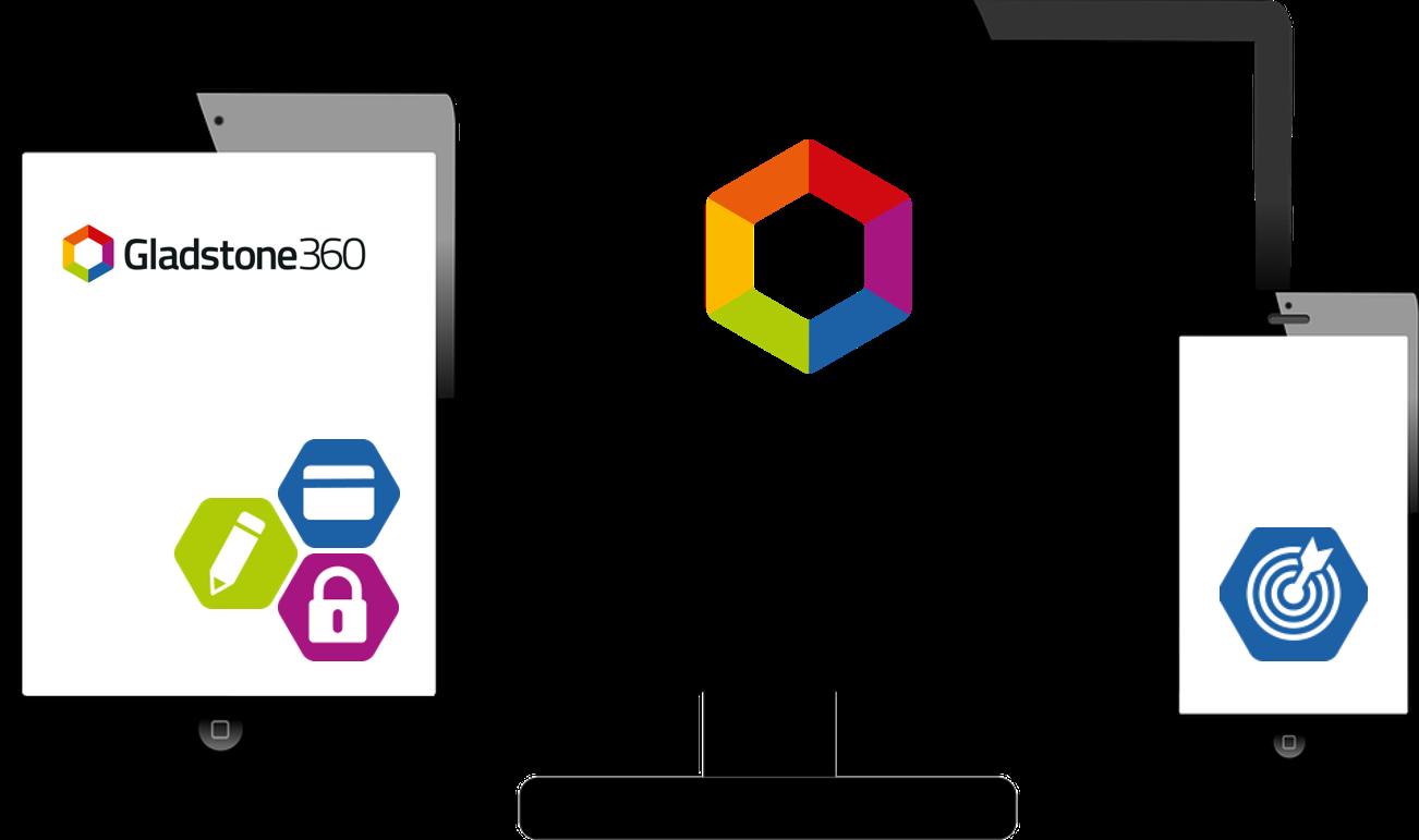 360 multi screen logos and modules