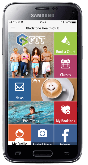 Picture of MobilePro standard home screen