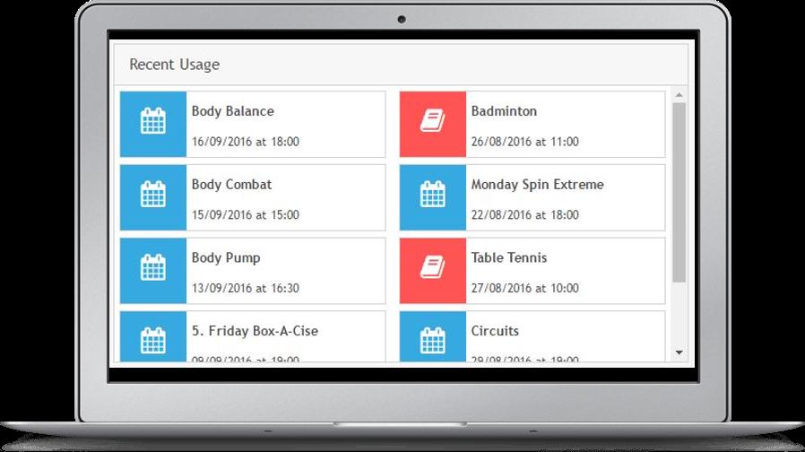 Gladstone360 widget module screen shot